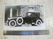 The Cunningham Car Company Rochester Ny Real Photo Dealers Sales Card Literature