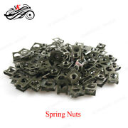 2/10/20/50/100 Pcs M6 Open Stretch Nuts Cabinet Cage Plywood Leaf Spring Nut