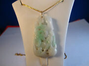 Vintage Natural Jadejadite Pendant 8-great Gift For All Occasions-unique