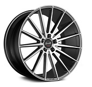 20andrdquo Gianelle Verdi Black With Machined Face Wheels Set Of 4