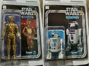 Star Wars Gentle Giant Jumbo 12 Back Factory Sealed Vintage C-3po And R2d2 Retro