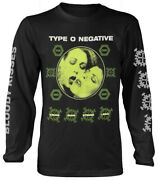 Type O Negative And039crude Gearsand039 Black Long Sleeve Shirt - New And Official