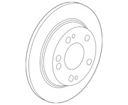 Genuine Honda Disk Rear Brake 42510-tgh-a00