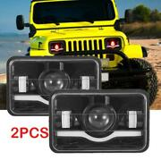 2pcs 4x6 120w Led Headlights Projector Replacement High Low Beam Drl Headlamp