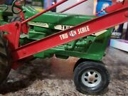 Tru Scale Tractor 890 With Trip Loader Die Cast Toy Rare Vintage
