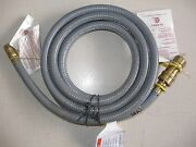 Gas Grill Natural Gas 3/8 Quick Disconnect Hose Kit 10 Feet For Standard Grills