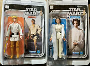 Star Wars Gentle Giant Jumbo 12 Sealed Retro Luke Skywalker Princess Leia Lot