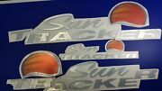 Sun Tracker Boat Emblem 36 + Free Fast Delivery Dhl Express - Decal Stickers