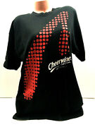 Vtg Cheerwine Soft Drink T-shirt 2 Sided Print Spell Out Logo All Over Tee Sz Xl