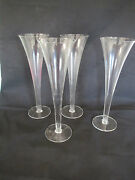 Lot Of 13 Tapered Vases Restaurant / Catering / Wedding Decor 10 X 3
