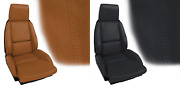 1984-1987 Corvette C4 Leather And Vinyl Standard Seat Covers Oe Style 626226