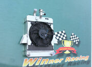 Aluminum Radiator And Fan And Support For Triumph Gt6 2.0l 1966-1973 70mm 2.75''