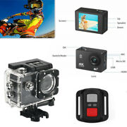Motorcycle 4k Wifi Dv Remote Control Helmet Action Camera Driving Recorder Video