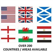 Pack Of 50 Flags Of The World 20mm X 12mm Sticker / Decals Any Country / Area