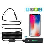 Wifi Endoscope Camera P1200p Hd For Iphone Android Inspection Usb Endoscope 8mm