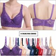 Plus Size Bras Large Big Sexy Underwear Lingerie For Womenand039s Lace Push Up Deep V