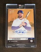 2019 Topps Now Od-310f Kyle Schwarber Auto 1/1 - Road To Opening Day