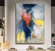 Contemporary Abstract Painting For Home Or Office Hand Painted 48x 36