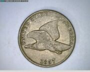 1857 Flying Eagle Cent 1c Old Penny  18-300 M5