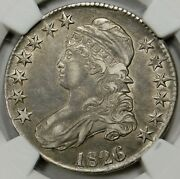 Final Late Die State Very Rare 104ab Ngc Xf40 1826 Capped Bust Half Dollar