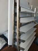 Commercial Kitchen 6 Sheet Bun Pan Bakery Speed Keeper Rack On Casters Stainless