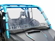 Can Am Commander Full Hard Coated Windshield W/dual Sliding Vents