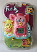 Rare 2000 Furby Fun Time Games Handheld Lcd Game Tiger Electronics New Nos