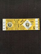 Full Unused 1968 Detroit Tigers World Series Ticket Game 5 St Louis Cardinals