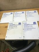 New Holland Tractor Series 2000 3000 4000 5000 7000 Service Manuals Lot Of 5