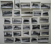 Boston And Maine Railroad Train Engines Billerica Shops Ma Lot Of 30 Photos