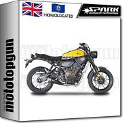 Spark Full System Exhaust Catalysed Black Conic Yamaha Xsr 700 2016 16 2017 17