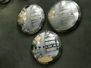 3pc Buick Hubcaps Dog Dish Poverty Hubcaps 1941-1950