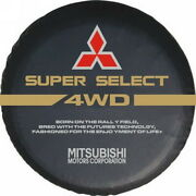 Mitsubishi 4wd Car Spare Wheel Tire Tyre Soft Cover Pouch Bag Protector 2627 S