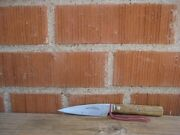 Vintage 3 1/2 Blade John Russell Green River Works Carbon Paring Knife Usa
