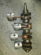 Nissan 140hp 2 Stroke Outboard Crankshaft And Pistons 3c7000502