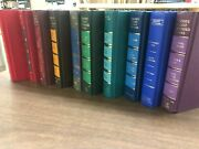Lot Of 12 Readers Digest Books Solid Color Chic Decor Interior Design Wedding