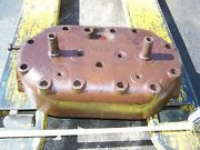 Old Rumely Oil Pull Oilpull Lightweight Tractor Cylinder Head C5p473 Hit Miss