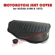 Motorcycle Seat Cover Suzuki A80 A 80 A 100 A100 K Model 1973 And Seat Strap