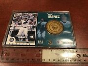 Raul Ibanez Seattle Mariners Bronze Medallion In Frame Free Shipping
