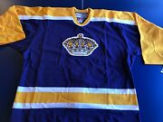 La Kings 1998 Year Ccm Authentic Licensed Jersey Size 52 New Vintage Collectible