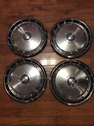 1971 1972 1973 Ford Mustang 14 Inch Hub Caps Wheel Covers Vintage Automotive