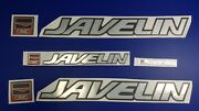 Javelin Boat Emblem 25 + Free Fast Delivery Dhl Express - Decal Stickers