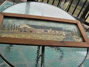 Original Dolores Hackenberger Signed American,-large Oil On Canvas Painting