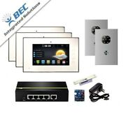 3 Monitor Apartment Access Control Home Security Ip Video Intercom System Kit