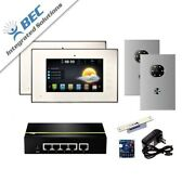 2 Monitor Apartment Access Control Home Security Ip Video System Intercom Kit