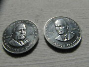 Shells Mr. President Coin Game 2 Coins Taft Coolidge