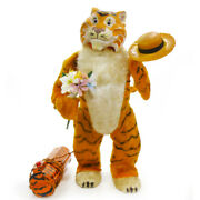 1960s Walking Esso Tiger Battery Toy/robot By Marx Complete Rare