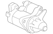 Genuine Starter Motor Assembly Sm-74014mitsuba 31200r1aa12