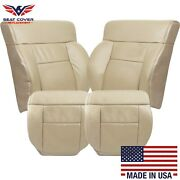 2005 2006 2007 2008 Ford F150 Lariat Leather Seat Cover In Medium Pebble Tan