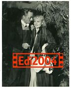 Carole Lombard And William Powell Vintage Original Photo Rare 30and039s Costume Party